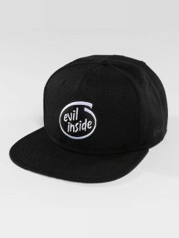 Dangerous DNGRS snapback cap Evilinside zwart