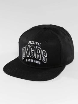 Dangerous DNGRS Snapback Caps Original ID musta