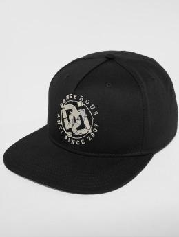Dangerous DNGRS Snapback Caps DoubleD musta
