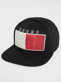Dangerous DNGRS Snapback Caps TwoFace musta