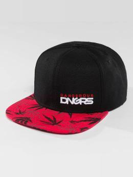 Dangerous DNGRS Snapback Caps Health rød