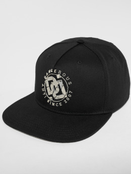 Dangerous DNGRS Snapback Caps DoubleD svart