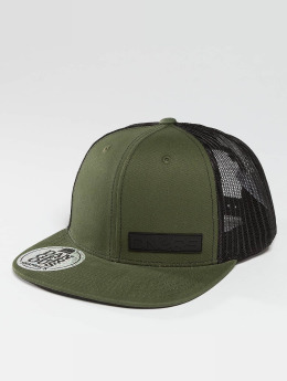Dangerous DNGRS trucker cap Meanie olijfgroen