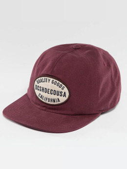 DC Casquette Snapback & Strapback Milford rouge