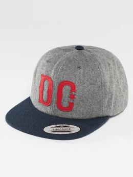 DC Snapback Caps Off Field harmaa