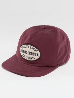 DC Snapback Caps Milford punainen