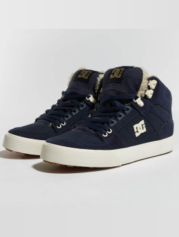 DC sneaker Pure High Top Wc Wnt blauw