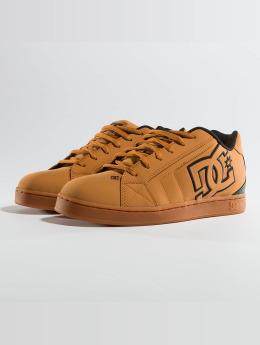 DC sneaker Net bruin