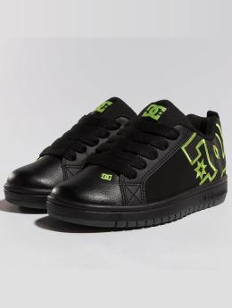 DC Sneaker Court Graffik Se schwarz