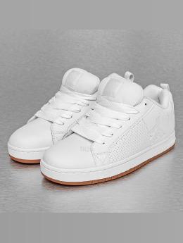 DC Sneaker Court Graffik weiß