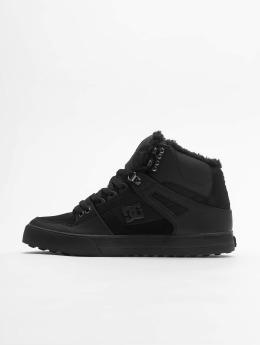 DC sneaker Pure High Top Wc Wnt zwart