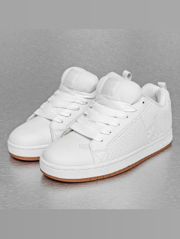 DC Sneakers Court Graffik bialy