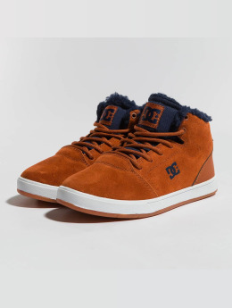 DC Sneakers Crisis High Wnt brazowy