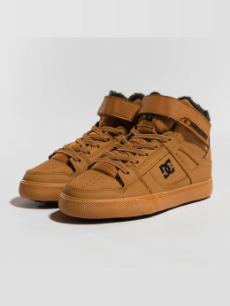 DC Sneakers Pure High Top Wnt Ev brazowy