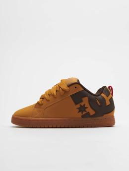 DC Sneakers Court Graffik Se hnedá