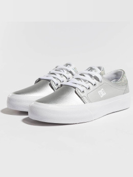 DC Sneakers Trase Se silver colored