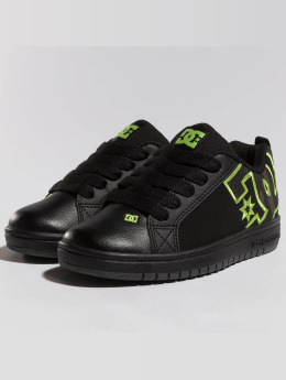 DC Sneakers Court Graffik Se sort