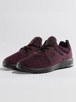 DC Heathow TX SE Sneakers Maroon