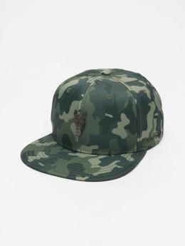 De Ferro Snapback Caps Fire camouflage