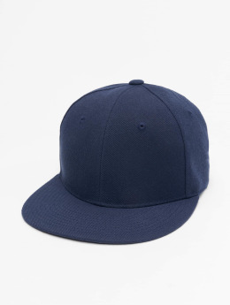 Decky USA Fitted Cap Flat Bill blauw