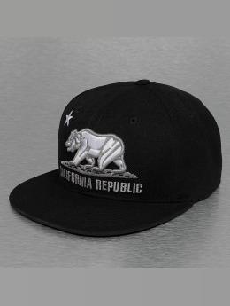 Decky USA Fitted Cap California nero
