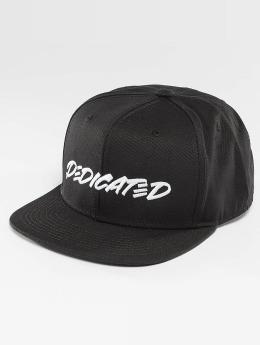 DEDICATED Snapback Cap Marker Black nero