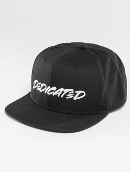 DEDICATED Snapback Caps Marker Black musta