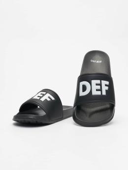 DEF Sandaalit Defiletten musta