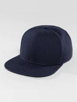 DEF snapback cap Basic blauw