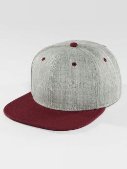 DEF snapback cap Basic grijs