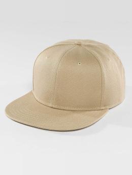 DEF Snapback Caps Basic beige