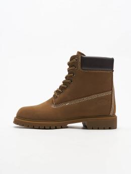 Dickies Čižmy/Boots Fort Worth hnedá