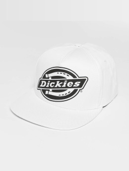 Dickies Lockhart Snapback Cap White