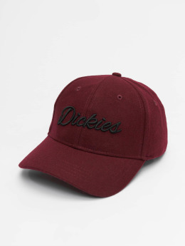 Dickies Casquette Snapback & Strapback Fieldale  rouge