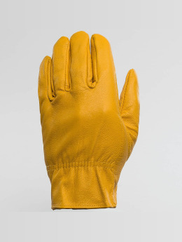 Dickies Gants Lined Leather jaune