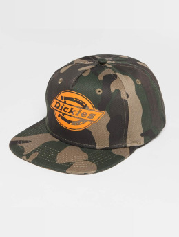 Dickies Oakland Snapback Cap Camouflage/Orange