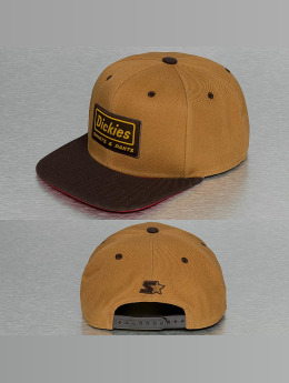 Dickies Snapback Caps Jamestown ruskea