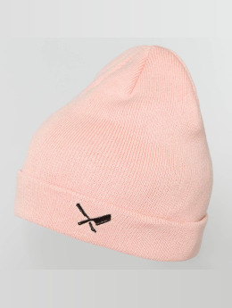 Distorted People Beanie Classic Blades rose