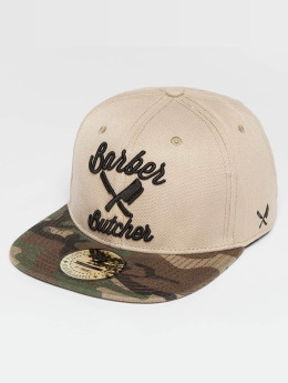 Distorted People Snapback Cap BB Blades beige