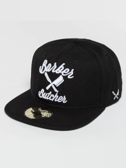 Distorted People Snapback Cap BB Blades black