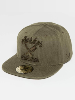 Distorted People Snapback Cap BB Blades olive