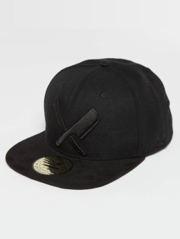 Distorted People Snapback Cap Barber & Butcher schwarz