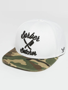 Distorted People Snapback Cap BB Blades weiß