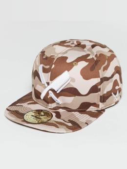 Distorted People Snapback Caps Barber & Butcher camouflage