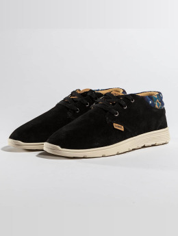 Djinns Baskets Mid Lau Light Suede noir
