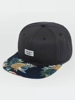 Djinns Casquette Snapback & Strapback CP Pineapple bleu