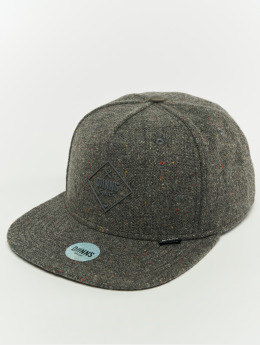 Djinns Casquette Snapback & Strapback 5p Spotted Edge gris