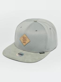 Djinns Casquette Snapback & Strapback Dry Knt gris