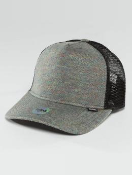 Djinns Casquette Trucker mesh Spot Koper gris