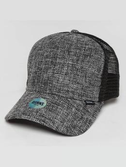 Djinns Casquette Trucker mesh HFT Colored Linen gris